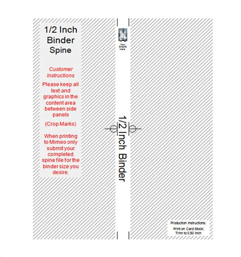 2 Inch Spine Template sle binder spine template 5 documents in pdf psd