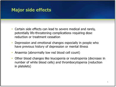 what are the side effects of c section module 7 side effects and implications for treatment