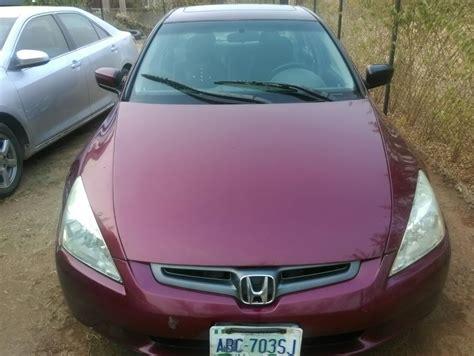 honda accord 05 9ja used honda accord 05 v6 abuja autos nigeria