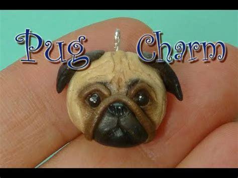 polymer clay pug pug polymer clay charm tutorial