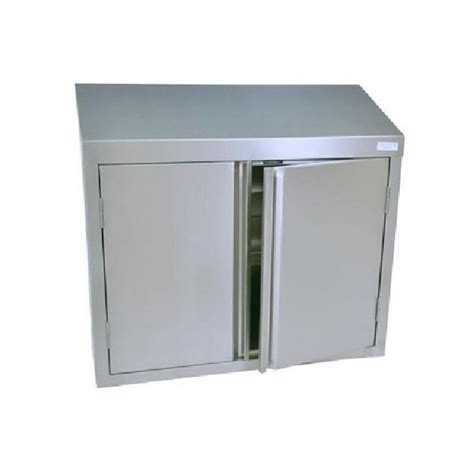 stainless steel wall cabinets bk resources bkwch 1548 48 quot stainless wall mounted cabinet
