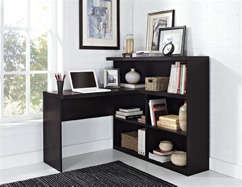Espresso L Shaped Desk Dorel Trilium Way Espresso L Shaped Desk