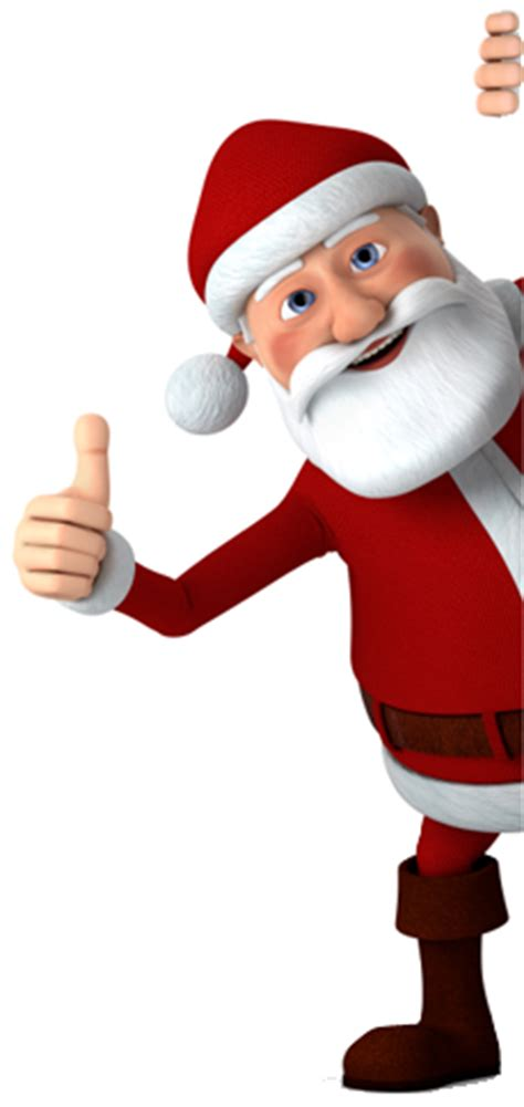 santa claus thumbs up santa approved landing pages you been or
