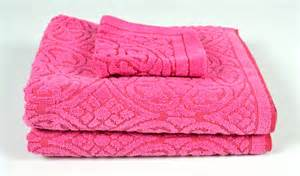 pink bath towel sets vintage pink towel set 2 bath towels and 1 washcloth