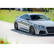 Audi TT RS Tuning Wallpapers HD Sport Vossen Wheels