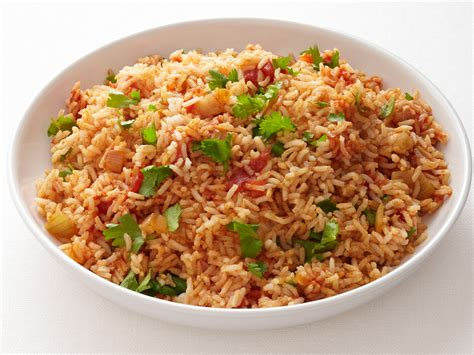 rice dish spicy mexican rice recipe food network kitchen food