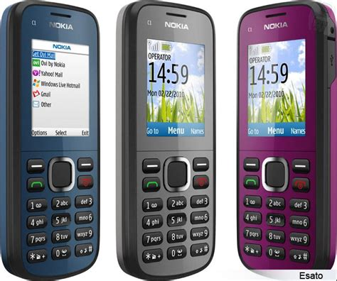 themes nokia mobile c1 nokia c1 02 picture gallery
