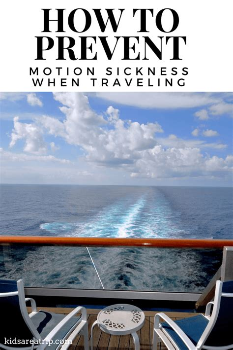 Ways To Prevent Motion Sickness by Tips For Dealing With Motion Sickness When Traveling