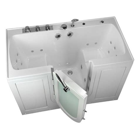best rated walk in bathtubs handicap walk in tub tub4two acrylic outward swing walk