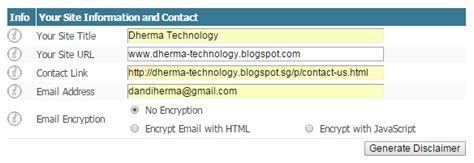 cara membuat sebuah abstrak berikut cara membuat disclaimer pada sebuah blog