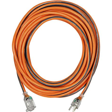 Decorative Extension Cord by Ridgid 25 Ft 12 3 Sjtw Extension Cord With Lighted