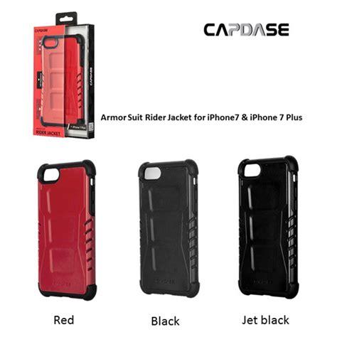 Capdase Armor Suit Rider Jacket Casing Iphone 7 Hitam iphone8 plus 7 plus ケース armor suit rider jacket black