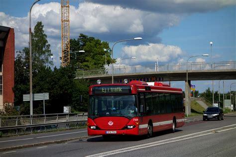 arriva stockholm scania omnicity cn94ub4x2 eb nr 7158
