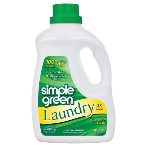 Simple Green 100 Oz Sunshine Fresh Laundry Detergent Green Laundry