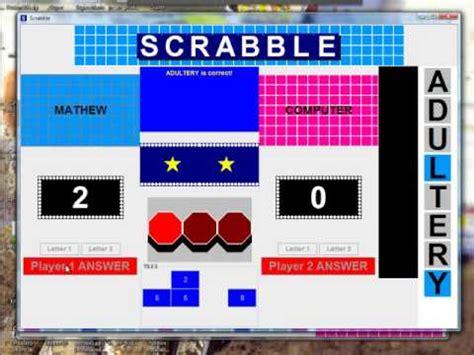 scrabble pc flash scrabble playable demo doovi