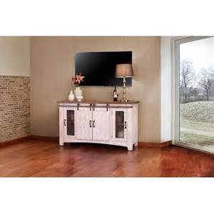American Furniture Warehouse Tv Stands by International Furniture Direct Pueblo 60 Quot White Tv Console
