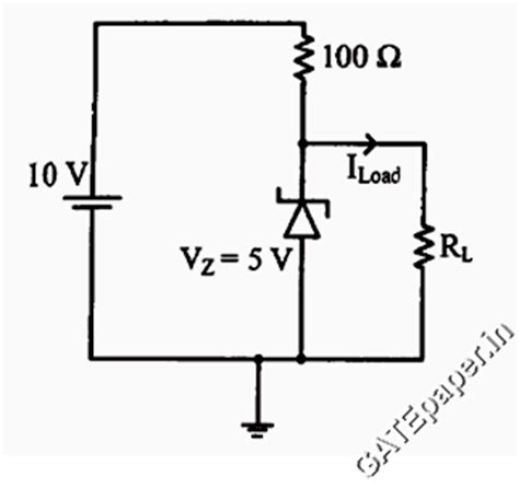 diode circuits gate questions gate 2018 previous solutions lectures for free gate questions on quot zener diode quot 1987