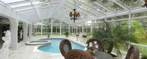 glass cathedral roof sunroom  aluminum frame