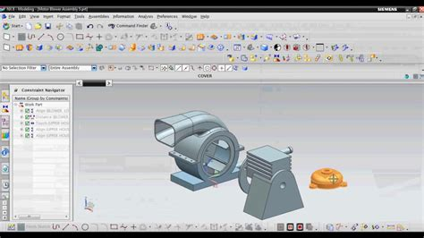 design engineer unigraphics nx pune unigraphics ug nx assembly tutorial youtube