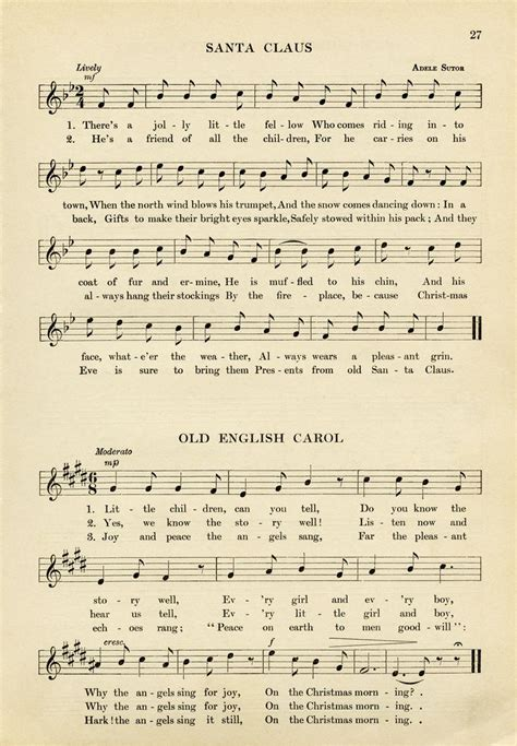 printable lyrics 107 best images about christmas songs on pinterest