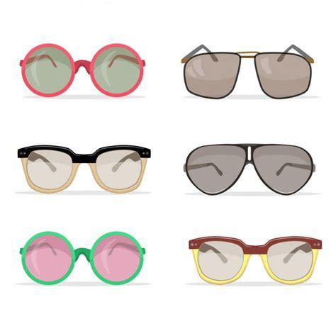Obral Kacamata Eyewear Sunglasses Fashion Set Turkish vintage sunglasses collection vector free