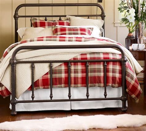 pottery barn king bed coleman bed pottery barn