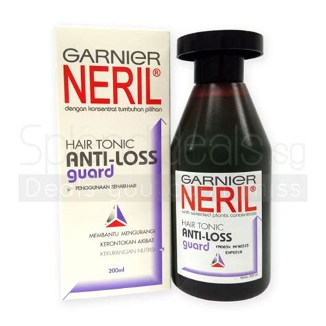 Nr Hair Tonic 200ml Termurah hair tonic garnier neril anti hair loss guard original hair tonic 200ml