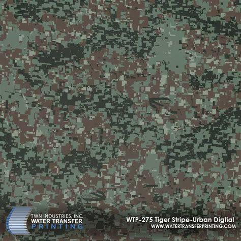 Stiker Camo Camouflage 275 tiger stripe digital hydrographic wtp 275 twn industries