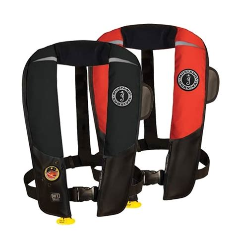 Mustang Auto Hydrostatic Inflatable Pfd Md3183 by Mustang Deluxe Md3183 V2 Hit Auto Hydrostatic Pfd