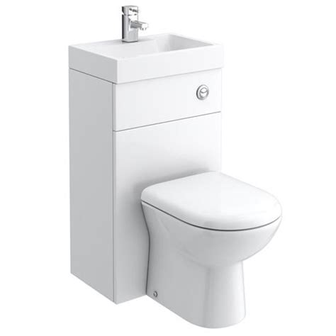 340mm wide toilet seat combined two in one wash basin toilet 500mm wide x