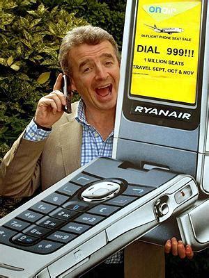 ryanair mobile ryanair mobile phones michael o leary s publicity