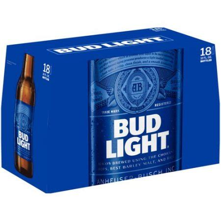 40 oz bud light bud light beer 18 pack 12 fl oz walmart com