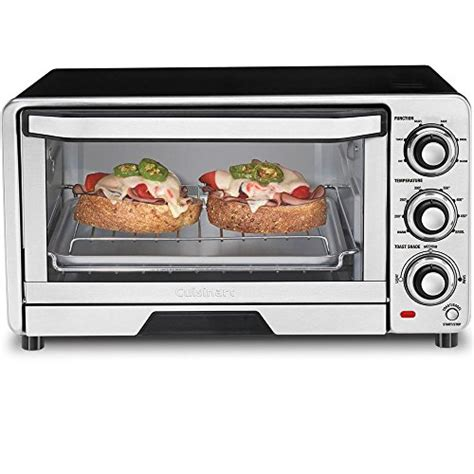 Cuisinart Custom Classic Toaster Oven Broiler Stainless Steel Best Toaster Oven Out Of Top 21