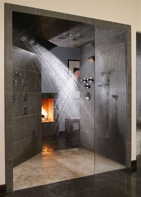 fireplace bathroom 25 bathroom fireplaces that make any bath a wow therapy