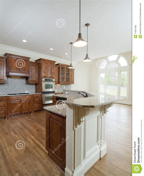 home interior kitchen model luxury home interior kitchen arch window stock image image of cabinet granite 11961499