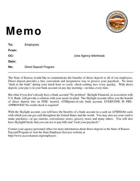 best photos of employee memo template memo template with cc new employee welcome letter