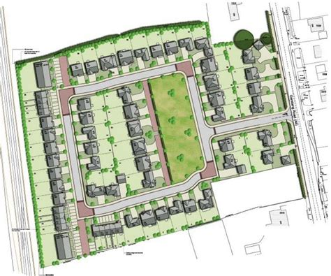 housing development plans wainhomes tables plans for 72 new homes near barton village blog preston