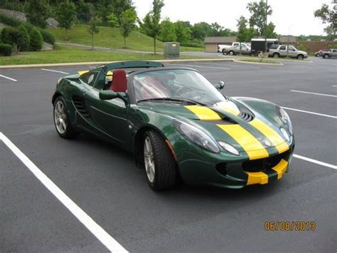 lotus elise stats purchase used 2005 lotus elise quot type 25 quot in nashville