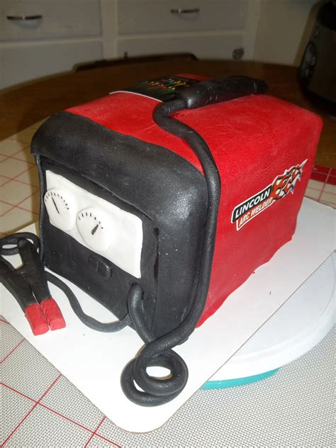 Welding Cake by Lincoln Welder Cake I Made Cakes Lincoln