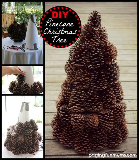 pine cone crafts for christmas pinecone tree centerpiece paging mums