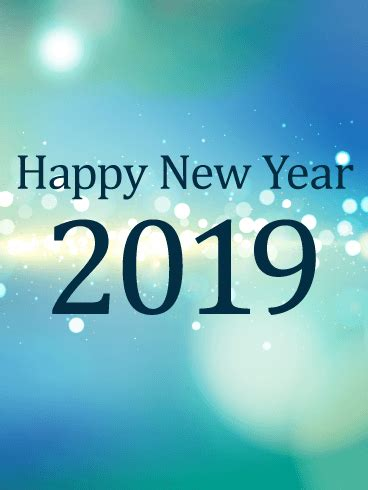 new year in 2019 happy new year card 2019 birthday greeting