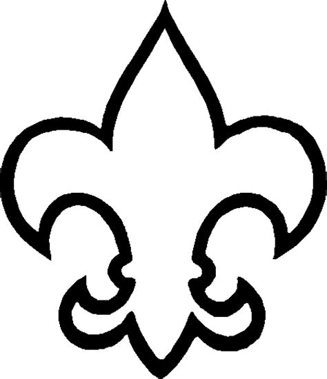 Scout Logo Outline by Usssp Clipart Library
