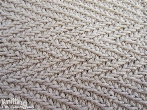 herringbone stitch knitting the woven transverse herringbone stitch creates a thick