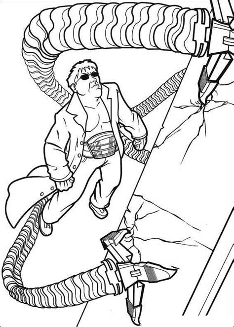 Doc Ock Coloring Pages Doc Ock Coloring Pages Az Coloring Pages