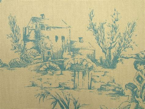 toile de jouy curtains blue designer w wood blue cream toile de jouy 100 cotton