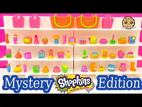 Shopkins Original Mystery Edition 2 shopkins limited edition season 1 2 mystery blind basket opening unboxing