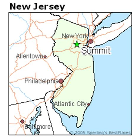 places    summit  jersey