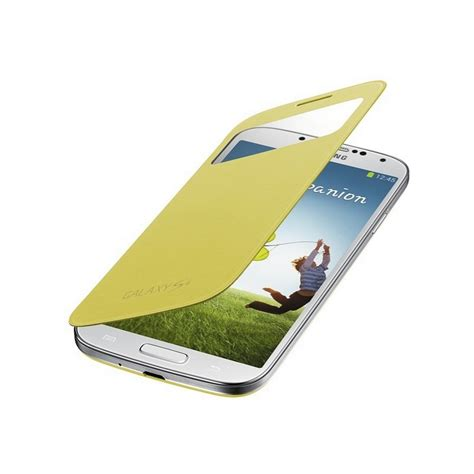 Jual Samsung S View Cover I9500 Galaxy S4 Original T1910 samsung galaxy s4 i9500 i9505 s view ef ci950byegww yellow