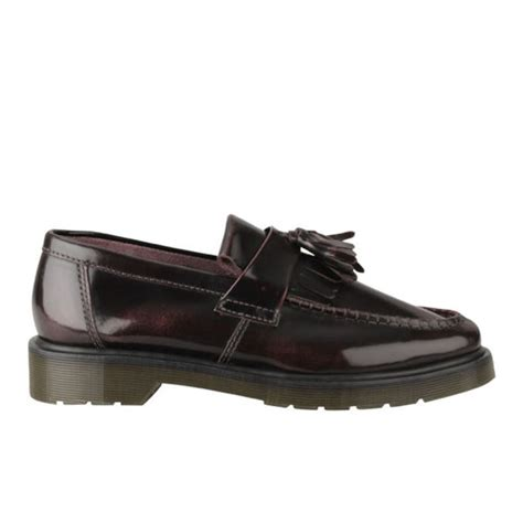 dr martens adrian loafers dr martens mens adrian tassel leather loafers in brown