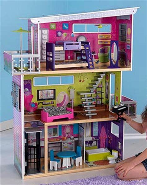 kidkraft 3 story wood dollhouse my modern mansion doll